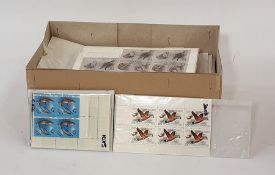 Large quantity of modern Russian stamps(1 box)