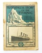Quantity ofephemera to include the deathless story of the Titanic, 2nd edition. Assorted theatre