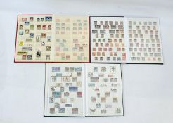 Three stock bookscomprising large selection of German stamps (3)