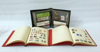 Three packets of Malayan stampsplus stock books and albums of miscellaneous stamps, together with