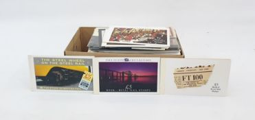 Large quantity of First Day Covers and decimal presentation packs (1 box)