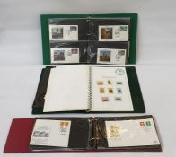 13 albums including two new age printed albums with some stamps, album with George VI coronation