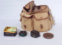 'Hardy the Golden Prince' fly fishing reel, J W Young and Sons Trudex reel, other fishing