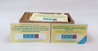 Mint decimal GB stamps and bookletsincluding eight Readers Digest strips on cards, face value £80