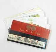 Mixed lot of world stamps including in GB mints and Channel islands, including some from Germany (