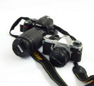 Nikon D60 camera, a Pentax ME super camera, various pairs of binocularsand similar items Condition