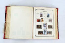 Album of Yugoslavian stamps, all periods