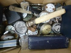 Box pocket and wristwatches. parts plus other itemsCondition Reportimages