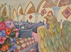 Lucy Elizabeth Brock (1927-2018) Reigate and Redhill School of Art and Crafts, Truro College of