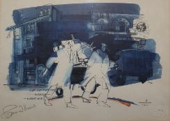 "Pam Williams (20th century)  Limited edition colour print ""The Van Over There"", 2/100, signed in"