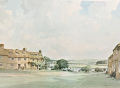 After Stanley Orchart Colour print Evening light, signed lower right, published by Beaulieu Fine