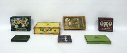 Large quantity of tins and decorative boxes(2 boxes)