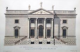 Architectural prints After H Hulsberg, Colen Campb