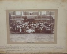 Photograph - wedding group dated 1912, another gro