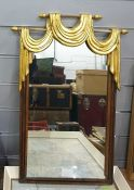 Two gilt framed mirrors and framed prints ( 6)