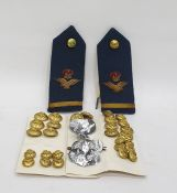 Quantity of military buttons (R.A.F)