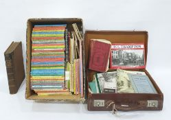 Five 1960's and 70's Kelly Directories, nautical tables1913, quantity of children's booksto