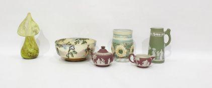 Denbyware studio pottery vase, Doulton Seriesware