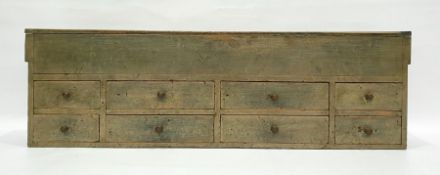 Pine chestwith lift top above eight assorted drawers Condition Reportassorted knocks and marks. '