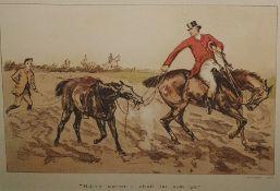 6 hunting prints after Hanhart ( 6)