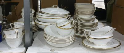 Part-dinner service by Royal Worcester in the 'Viceroy' pattern including two vegetable tureens,
