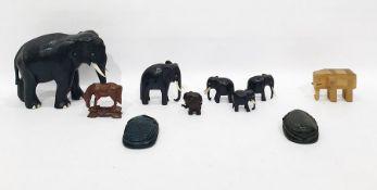 Collectablesto include ebony elephants, etc