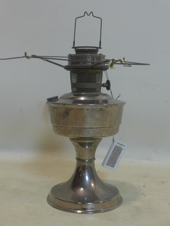 Lot 732 - A 1940's 'Aladdin' oil lamp, H.41cm