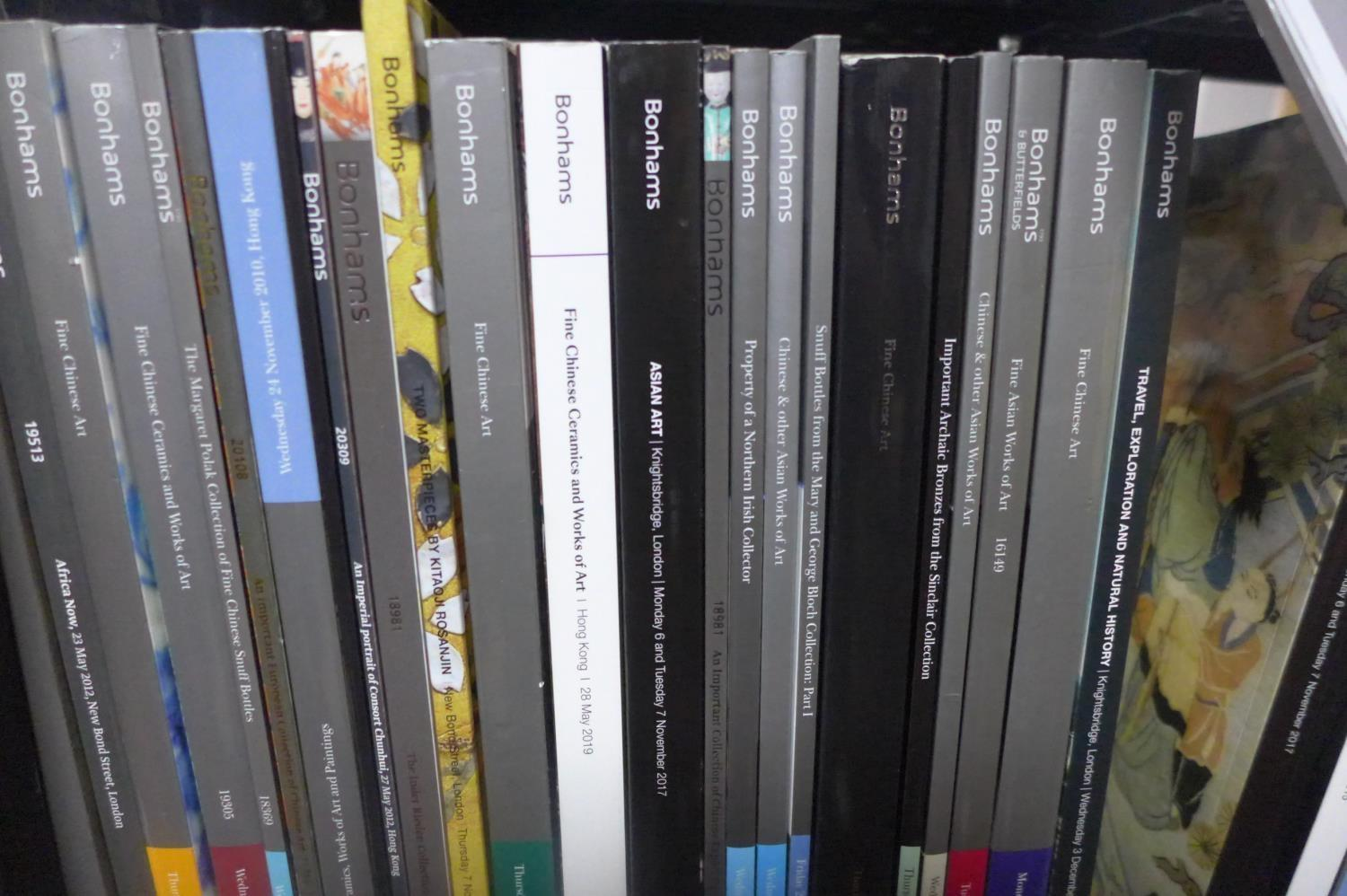Lot 11 - WITHDRAWN- Group of auction catalogues of Asian Works of Art, Sothebys, Christie's, Sworders,