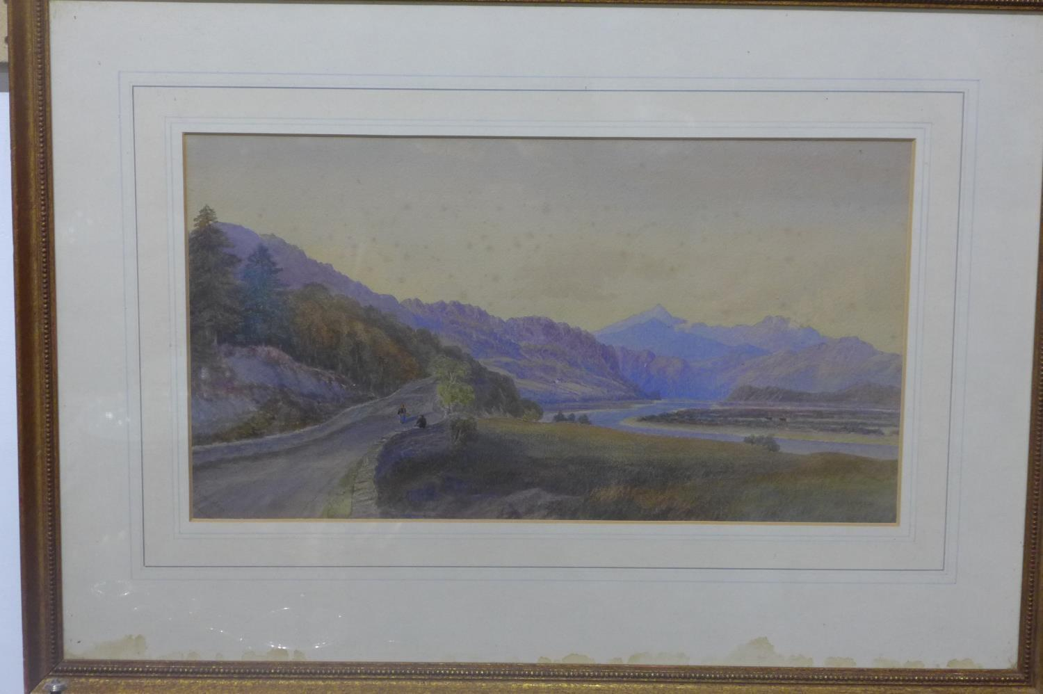 Lot 304 - William Leighton Leitch (British, 1804-1883), two watercolour representing rural landscapes,