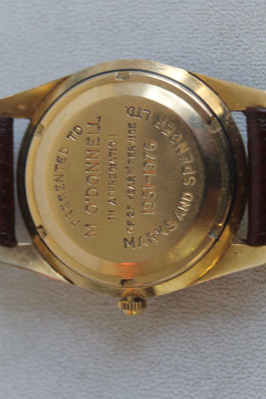Lot 13 - IWC SCHAFFHAUSEN (INTERNATIONAL WATCH COMPANY) GENTLEMAN'S 18CT GOLD AUTOMATIC DATE WRISTWATCH
