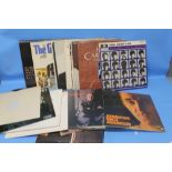 Lot 213 - QUANTITY OF ASSORTED RECORDS TO INCLUDE BEATLES, BARBARA STREISAND
