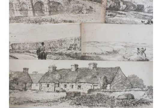 DAVID COX (XIX)  Ten various landscape scenes, unsigned