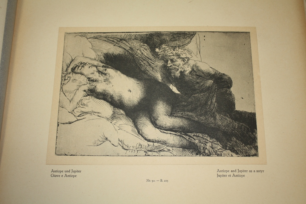 Lot 35 - HERMENSZ VAN RIJN REMBRANDT (1606-1669). Two limited edition portfolios 32 / 500 of the artists