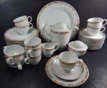 """Kaffeeservice """"Hutschenreuther"""" Dekor Galleria, 41 Teile,8 Kaffee-3 Teetassen, 13 U.T., 13"""