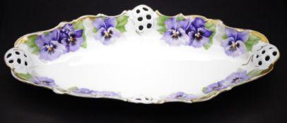 """kleine ovale Schale """"Rosenthal"""" Victoria Luise, 17x11 cm, gut erhalten"""