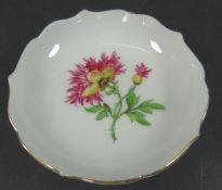 """kl. Schälchen """"Meissen"""" Blume, D-8 cm, 1.Wah"""