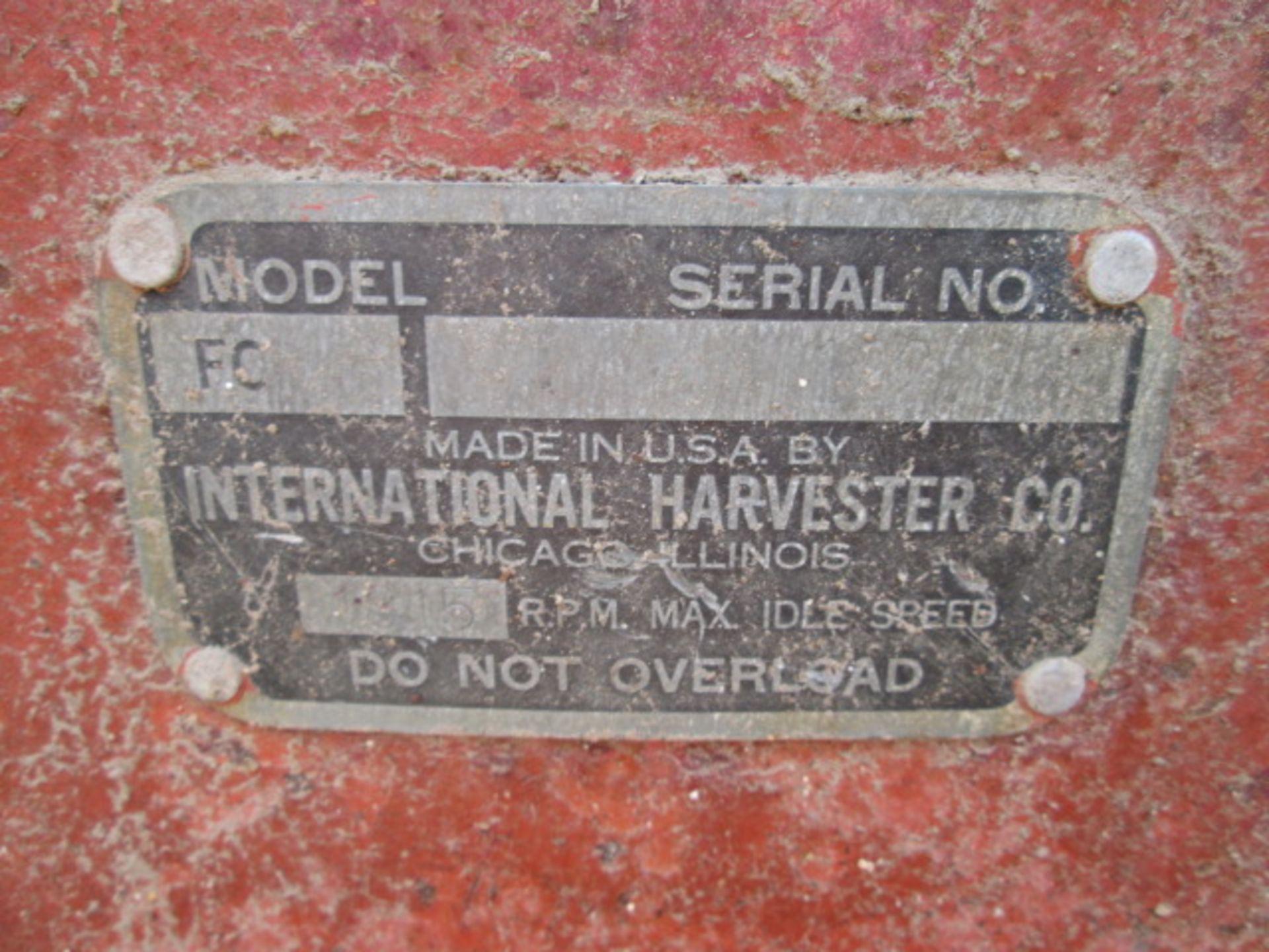 Lot 354 - FARMALL C, SN-12206, WOODS 59 MOWER, NON-RUNNING