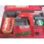 Lot 10 - HILTI DX350 RAMSET GUN KIT