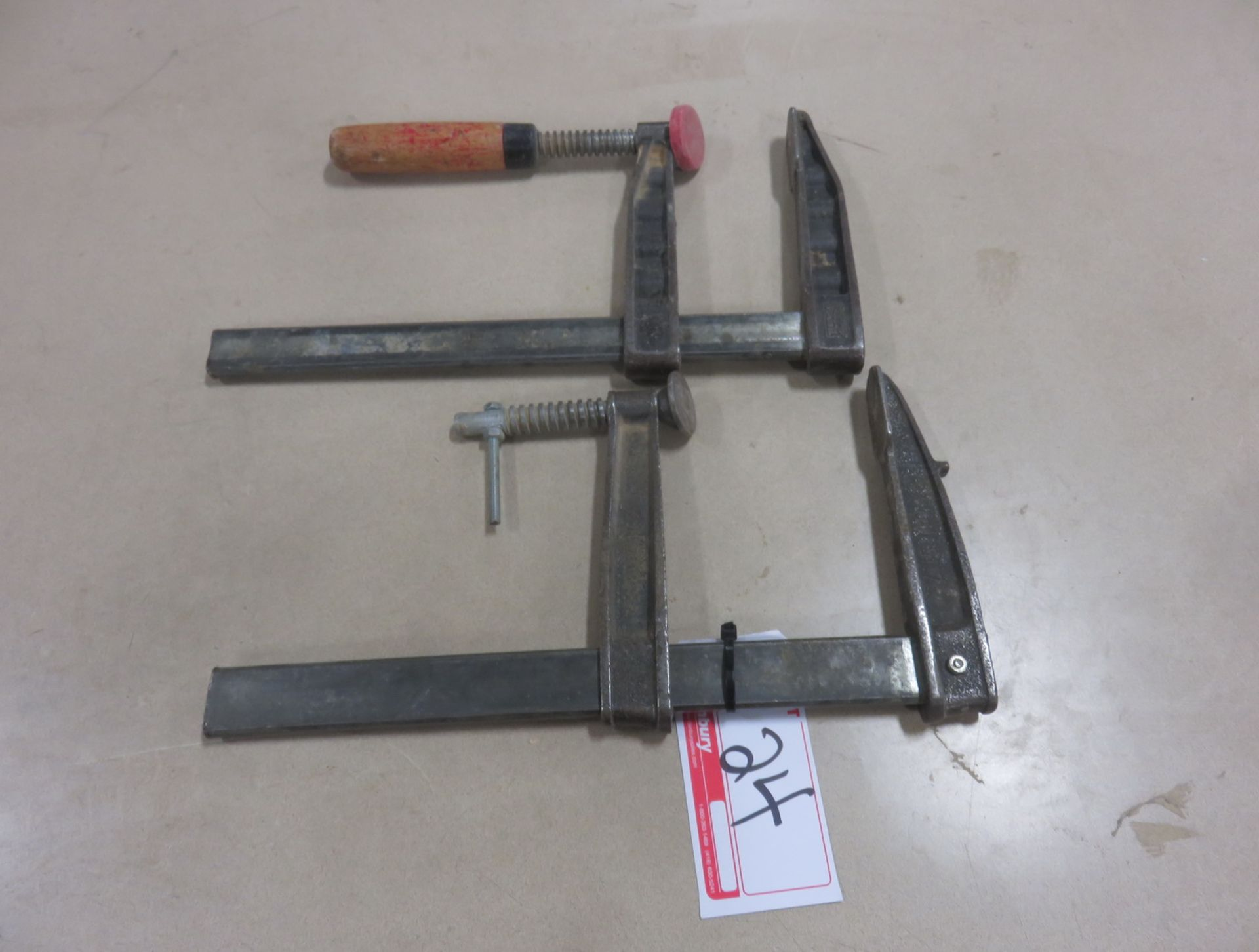 "Lot 24 - UNITS - GROSS STABIL 12"" BAR CLAMPS"
