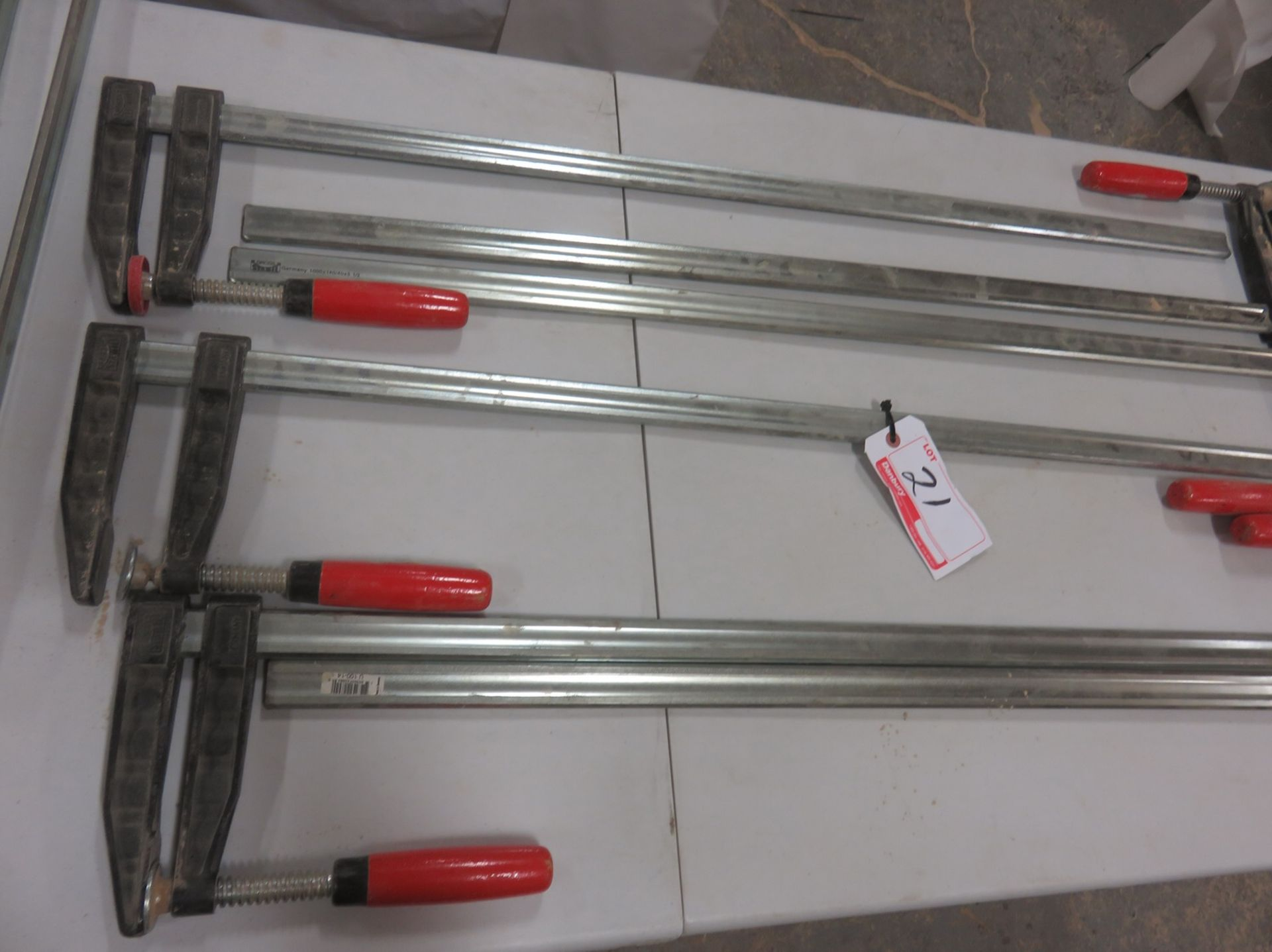 "Lot 21B - UNITS - GROSS STABIL 42"" BAR CLAMPS"