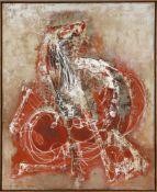 Edgar Jené (Saarbrücken 1904-1984 La Chapelle St. André)Tourbillin (Chevaux), 1963, Öl auf Lwd., 100