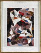 """Hans Dahlem (Blieskastel 1928-2006)""""Landschaft 1957"""", Öl auf Holz, 48,5 x 33,5 cm, rechts unten"""