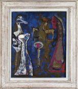"""Edgar Jené (Saarbrücken 1904-1984 La Chapelle St. André)""""Aprés midi"""", 1953, Öl auf Lwd., 73 x 60 cm,"""