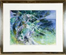 Camille Hilaire (Metz 1916-2004)Uferlandschaft, Aquarell, 46 x 61 cm, rechts unten signiert,