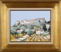 André Torre (1929-1999)Le Castellet, Öl auf Lwd., 27 x 35 cm, rechts unten signiert, vergoldeter
