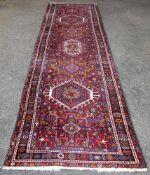 Garadje-Galerie, Persien, 2. Hälfte 20. Jh.Wolle auf Baumwolle, dichter Dekor, belaufen mit z.T.