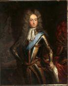Constantin Netscher (1668-1723) zugeschriebenPorträt Philippe II. Herzog von Orléans, Öl auf Lwd.,