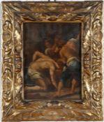 Daniele Crespi (1590-1630)Geißelung, Meisterskizze, Öl auf Holz, 25 x 19 cm, schöner alter
