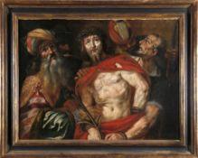 Claude Vignon (Tour 1593-1670 Paris) zugeschriebenEcce Homo, Öl auf Lwd., 83 x 113 cm, im