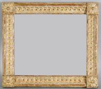 Bilderrahmen Louis-Seize, um 1770-80Holz geschnitzt und vergoldet, schöner originaler Zustand (